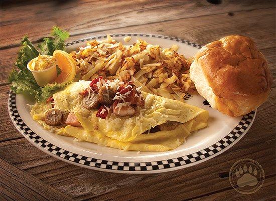Black Bear Diner: Meat Lovers Omelette