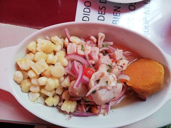 El Rincón de Bigote: Delicious cebiche
