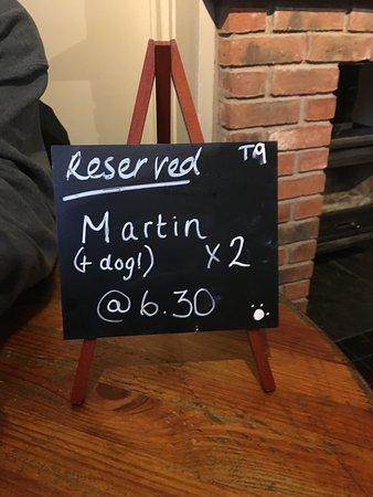 Hayfield, UK: Reserved!