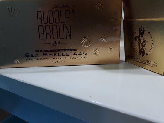 Manneken Pis: amazing chocolates
