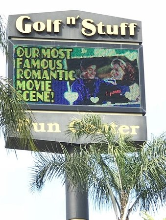 Norwalk, CA: The original Karate Kid was filmed there in the 80s and Golf N' Stuff wants you to know.