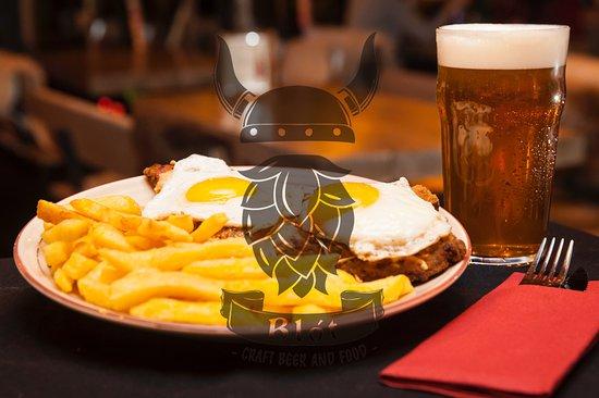 Blot - Craft Beer & Food: Milanesa a caballo