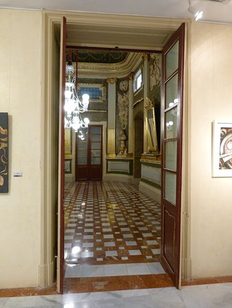 Palau Bofarull: Entrada Saló Noble