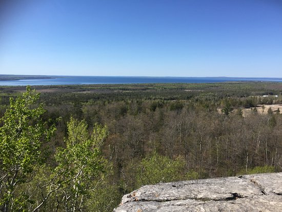Manitoulin Island, Canadá: lookout point