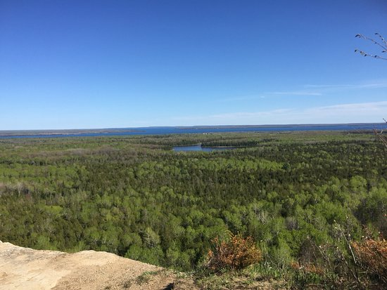 Manitoulin Island, Canadá: lookout point: cliff