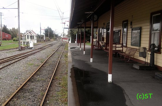 Ferrymead Heritage Park: Old Station