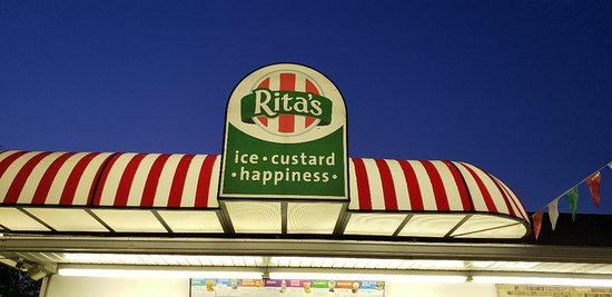Pottsville, Pensilvanya: Rita's Italian Ice