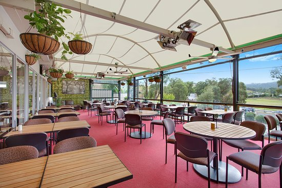 Dixons Creek, Australia: Alfresco dining