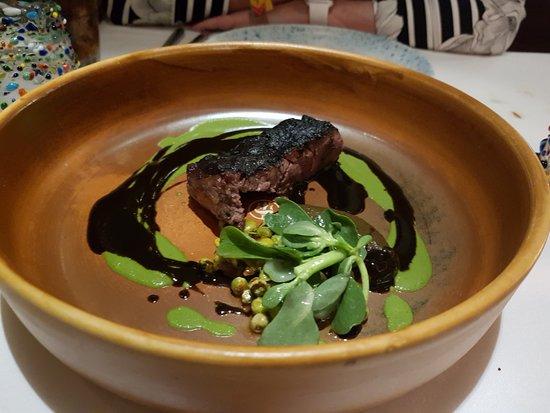 Tintoque: close up of beef steak