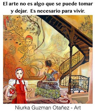 Galo Art Studio: El arte es necesario para vivir! Pintura de la artista Niurka Guzmán Otañez
