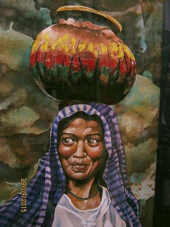 "Galo Art Studio: Pintura a la Acuarela ""La Sonrisa de la Michoacana"""