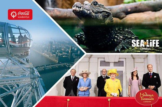Ingresso combinado: London Eye - SEA...