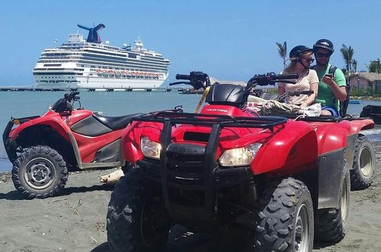 Amber Cove Shore Excursion: ATV Quads...