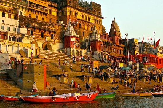Experimente Varanasi em uma viagem...