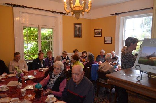 Bushy Park, Australien: We host many groups for high tea
