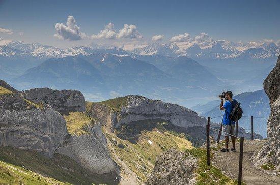Visite du paysage alpin du mont Pilate