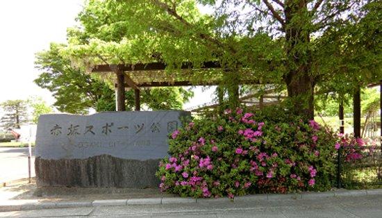 Ogaki, Nhật Bản: 赤坂スポーツ公園 入口