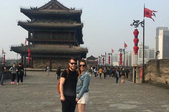 4 Stunden Xian Tour der Stadtmauer...
