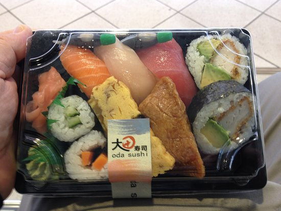 Oda Sushi : $9.50 - seems good