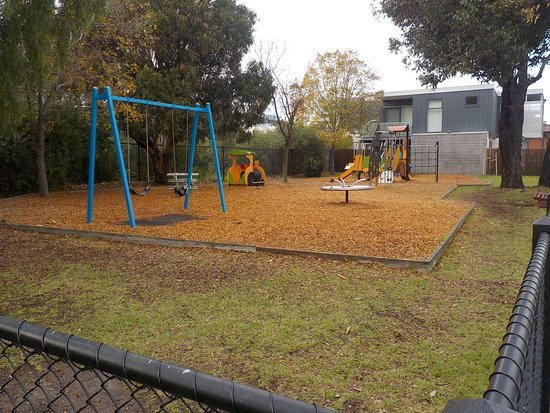 South Yarra, Αυστραλία: Fenced playground