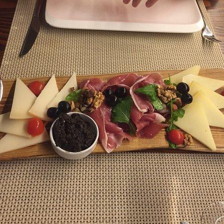 Restaurant Bruschetta Foto