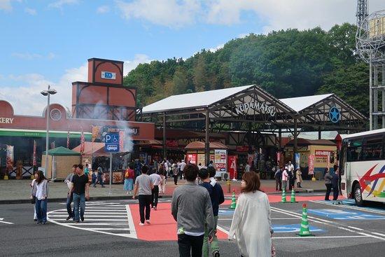 Kudamatsu, Japan: ウエスタン調が売りの下松SA