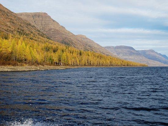 Krasnoyarsk Krai, รัสเซีย: озеро Лама, Красноярский край, Плато Путорана, Таймыр.