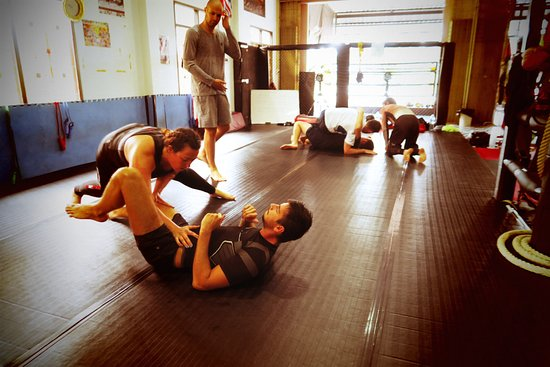 Combat 360X Muay Thai, MMA And Fitness: Grappling and MMA training at Combat 360X Muay Thai camp in Khao Lak.