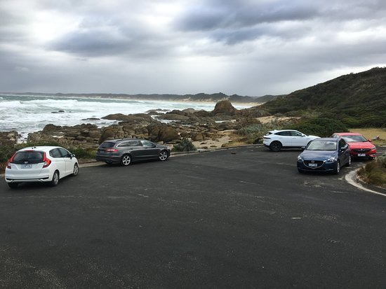 Cape Conran, Australia: Salmon Rocks car park