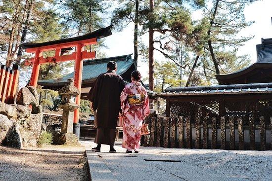 Imamiya Shrine area
