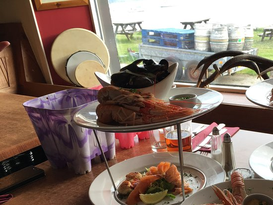 Knoydart Peninsula, UK: Meal