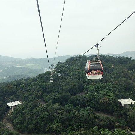 Maokong Gondola: gondola