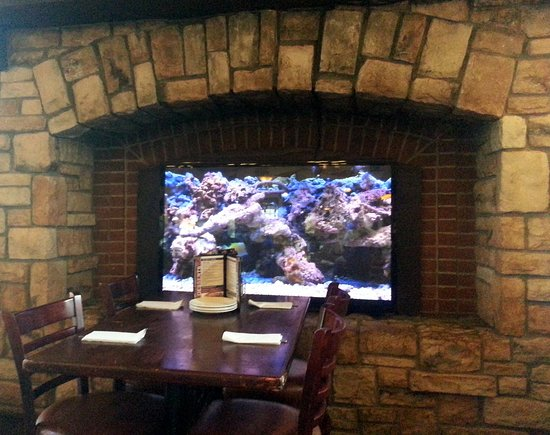 Moretti's Ristorante and Pizzeria: a very different take on a fireplace