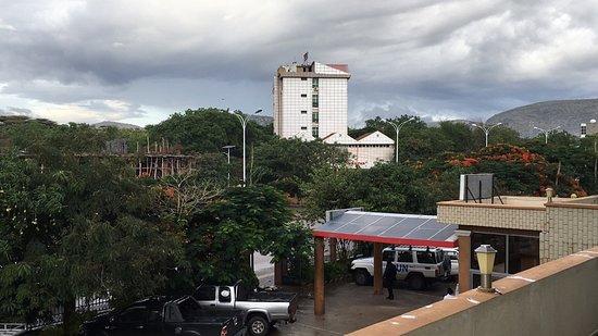 Samrat Hotel: View from terrace
