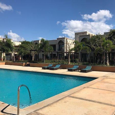 Pemba, Mozambique: Uma das piscinas do hotel (na zona dos apartamentos)