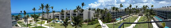 Uvero Alto, Dominican Republic: Panorama from Roof Terrace