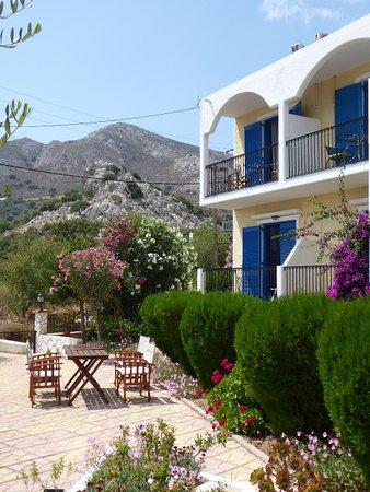 Livadia, Greece: Petros' garden