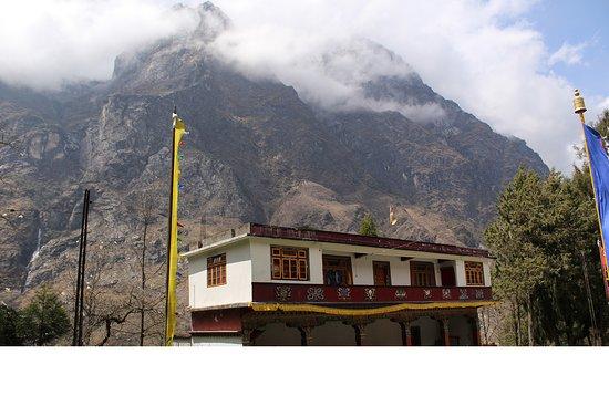 Lachung, الهند: Lachung Bigger Monastery