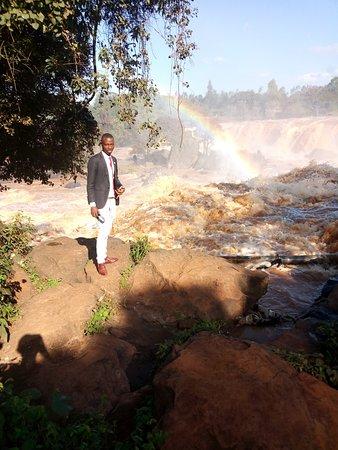 Thika, Kenya: fourteen falls site