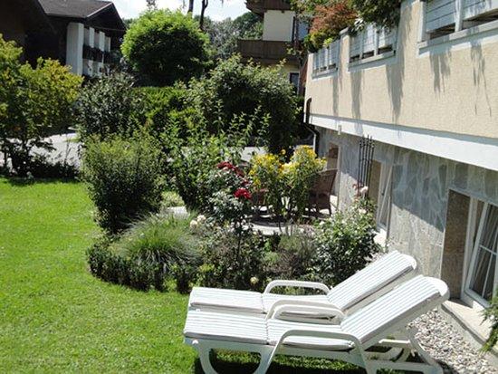 Residenz Theresa: Terrasse- Appartement Löwenzahn für 2 - 4 Gäste