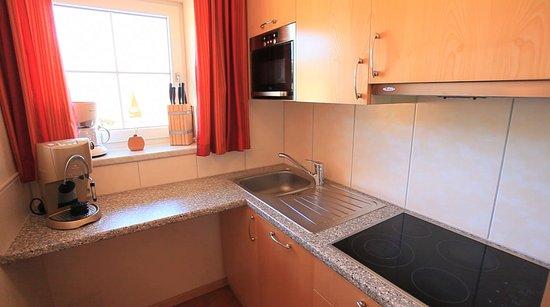 Residenz Theresa: Küche -Appartement Goldmelisse für 2 - 6 Gäste