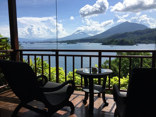 Pulau Lembeh, Indonesien: Room on top of the hill