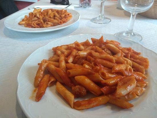 Pozuelo de Tabara, Spania: macarrones