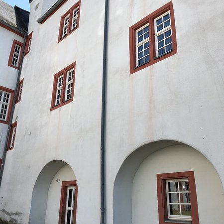Residenzschloss: The old castle is used as high school today