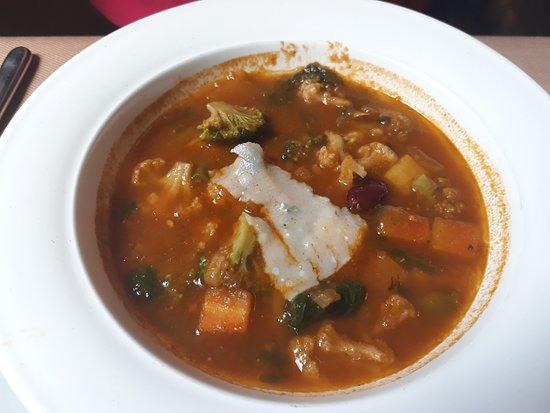 Pane e Vino: vegetable soup
