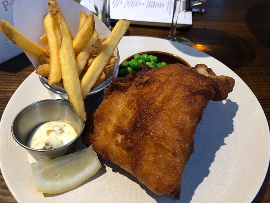 The Anchor Riverside Pub and Restaurant: Fish and Chips