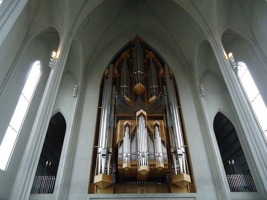 Hallgrimskirkja: Some of the organ Hallgrimskirka