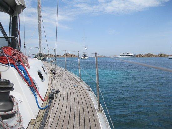Athena Sail: arrivee aux iles