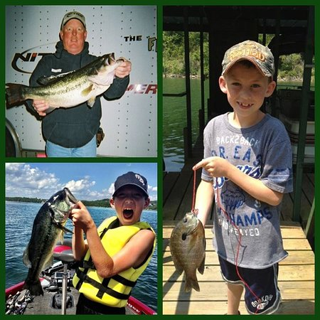 Harpers Valley Resort: Awesome fishing on Table Rock Lake