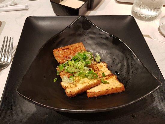 Teppan Edo: Atsu Age Tofu (first time eating tofu, and it was delicious)